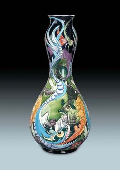 Moorcroft Fire and Water 7020