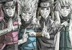 Naruto & the revived Hokages (1st-4th)