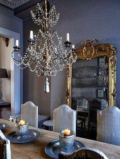 Lustres de cristal ou ferro na sala de jantar: 56 inspirações e diferentes estilos de decoração#!/2013/10/lustres-de-cristal-ou-ferro-na-sal...