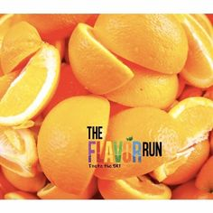 Orange is one of our flavorite flavors.  Naturally because we are from Florida!  What new flavor would you vote on? - #FlavorRun #LifeIsDeliciousTour #healthy #fitness #family #5k #running #colorrun #runnergirl #fit #happy #womenshealth #cool #mensfitness #pilates #yoga #stretching #balancedbody #muscle #fascia #nutrition #bajardepeso #healthylife #nutritioncoach #nutricion #bienestar