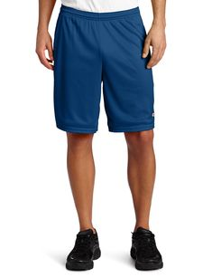 f6ad146716 100% Polyester Imported shorts closure Machine Wash Lightweight breathable  mesh short featuring logo at left