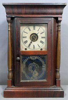 This clock is not chiming when prompted. Minor loss to the decoration on the glass panel. If you have been following Us. We are Out Picking the East Coast Weekly, So you don't have to! Wood Columns, Kitchen Clocks, Glass Panels, Victorian Era, East Coast, Brass, Antiques, Decoration, Ebay