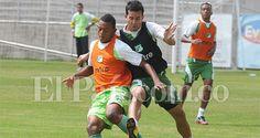 Néstor Camacho ya entrenó con Deportivo Cali y podría debutar ante el Cúcuta