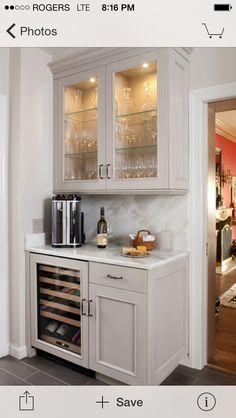 Light Gray Cabinets White Counters Dark Floor