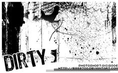 Dirty Grunge 05 - Download  Photoshop brush http://www.123freebrushes.com/dirty-grunge-05/ , Published in #GrungeSplatter. More Free Grunge & Splatter Brushes, http://www.123freebrushes.com/free-brushes/grunge-splatter/ | #123freebrushes
