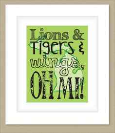 8x10 Michigan Print Lions Tigers and Wings oh by SBrandesDesigns. , via Etsy.
