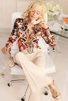 Versace -- i had style like this in the late 60s & 70s