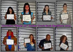 "White Trash/Redneck Mugshot Party Favor Keepsakes. Corrine's ""Durty 30"" Trailer Trash Bash"