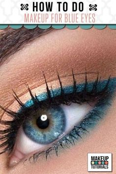 How To Do Eye Makeup For Blue Eyes | Natural & Simple Eyeshadow Tutorial For Everyday Look By Makeup Tutorials http://makeuptutorials.com/makeup-tutorials-how-to-do-eyemakeup-for-blue-eyes/