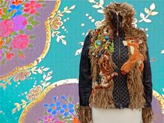 Jacket Bambi made of Recycled materials by lodicha on Etsy, €198.00 -  photoshop or graphic background