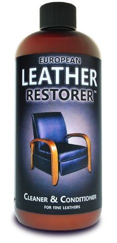 Reclining Sofa European Leather Restorer Best Cleaner and Conditioner for all fine Leathers Oz European Leather Restorer is a pH balanced mixture of the finest