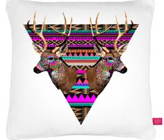 {Ohh Deer Pillow Cushions} via Uncovet - your choice of 4 nature wonderland designs! {nh}