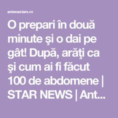 O prepari în două minute şi o dai pe gât! După, arăţi ca şi cum ai fi făcut 100 de abdomene | STAR NEWS | AntenaStars.ro Paramore, Pavlova, Loose Weight, Zumba, Good To Know, Cardio, Anti Aging, Smoothies, Good Food