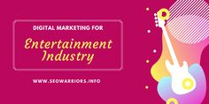 Here, you can get what changes have digital marketing brought, how it used to promote, and benefits of digital marketing in the entertainment industry. Media Marketing, Digital Marketing, Industrial, Entertainment, Business, Industrial Music, Store, Business Illustration, Entertaining