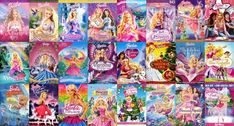 All the Barbie movies   I loved them when I was little, but I didn't like them after Magic of the Pegusus.   Princess and the Pauper and Swan Lake were the best ❤