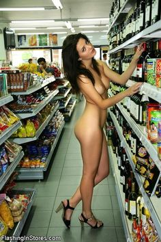 at Public store naked girls shopping