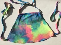 Melted Tie Dye Halter Top