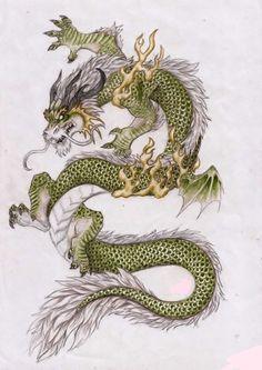 Asian Dragon by Zhamiska on DeviantArt Dragon Oriental, Dragon Heart, Art Chinois, Japanese Dragon Tattoos, Dragon Artwork, Dragon Pictures, Samurai Art, Art Japonais, Dragon Tattoo Designs