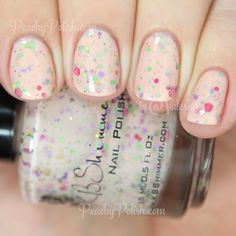 KBShimmer To Peach His Own   Spring 2015 Collection   Peachy Polish - on the fence about owning it ;) #pink/orange