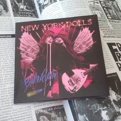 "Chesterfield King #GregPrevost gave 10/10 on his ALL DOLLED UP guide (#UglyThingsMagazine issue 35 Spring/Summer 2013) for this amazingly sounding #NewYorkDolls boot. Here's in the latest CD only as far as I know incarnation as ""Buttetflyin'"" by #easyactionrecords . Originally ""Live at my Father's Place"". by whitetrashsoul from #instagram"