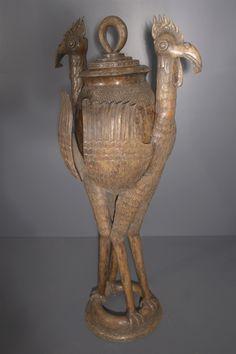 Art africain - Aquamanile Benin Bini Edo