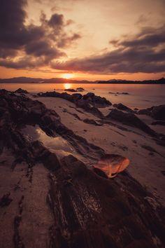 philippine sunset - palawan / philippines