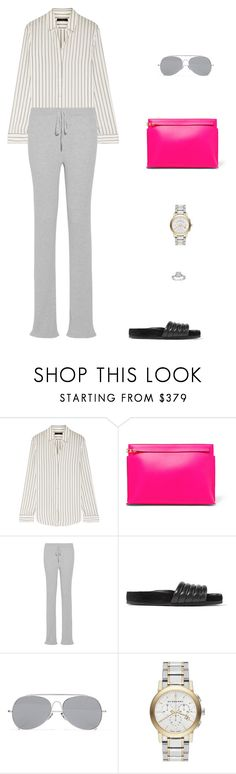 """Street Style"" by julieselmer ❤ liked on Polyvore featuring The Row, Loewe, Marques'Almeida, Isabel Marant, Acne Studios and Burberry"