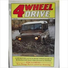 4 Wheel Drive Magazine June 1985 Issue 8 Vol 1 Listing in the Cars & Automobiles,Magazines,Books, Comics  & Magazines Category on eBid United Kingdom