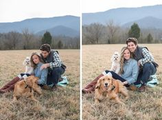 Wears Valley family photos with dogs. Star Noir Studio | Blog