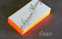 Business-Cards-Edge-Painting