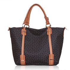 Women Retro PU Leather Printing Handbag