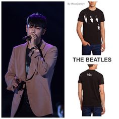 TOP wore the Beatles t-shirt during Chongqing FM 160702 #chongqing #fanmeeting #빅뱅 #bigbang #choiseunghyun #TOPstyle #TOP #최승현