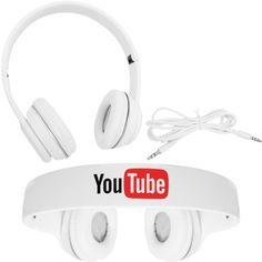 Brindes Personalizados - Fone de ouvido personalizado headphone com microfone