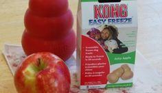 Kong recipes - need to get an easy freeze kong for summer & easing gums during teething