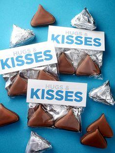 Hugs and Kisses Cookies