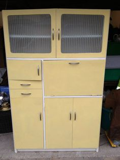 RETRO VINTAGE 50's / 60's ? KITCHEN LARDER CUPBOARD FOR RESTORATION / UP-CYCLING   eBay