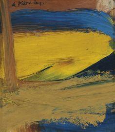De Kooning-Small Painting No. 3