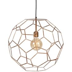 It's About Romi Marrakesh Hanglamp Koper - Ø 55 cm - afbeelding 1