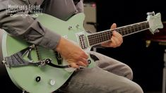 Gretsch Guitars G6134TDC Limited Edition Broadway Jade Penguin Semi-Holl... #GretschGuitars