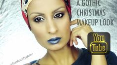 NYX LIP SUEDE LIP CREAM / A GOTHIC CHRISTMAS MAKEUP LOOK | ISASEBAUTYSPACE