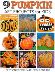 9 Pumpkin Art Projects to do this Fall