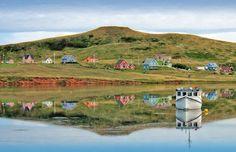 The very charming Iles de la Madeleine, Canada