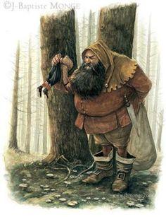 fantasy halloween ogres faeryland fairyland fae French France Britanny