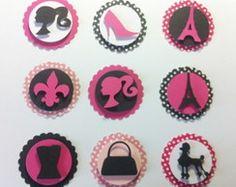 Barbie Scrapbook, Paris, Ferrari, Barbie Stuff, Color, Ideas, Silhouettes, Events, Plants