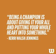 Kerri Walsh-Jennings quote