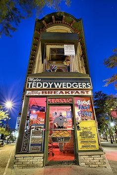 Teddywedgers on State Street, Madison, Wisconsin