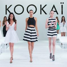 See Every Highlight From Kookai's Spring Summer 2014/2015 Runway Show