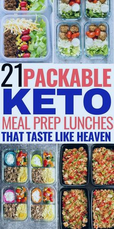 21 packable keto meal prep lunches that taste like heaven! I'm so glad I found these easy packable keto lunches. Now I can enjoy my lunch on the keto diet while losing weight! keto diet for beginners Ketogenic Diet Meal Plan, Keto Diet Plan, Diet Meal Plans, Ketogenic Recipes, Keto Diet Meals, Ketosis Diet, Atkins Diet, Hcg Diet, Diet Menu