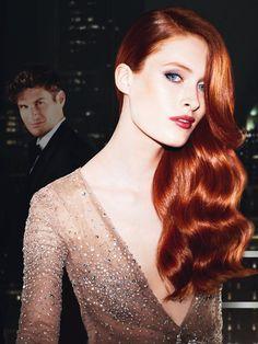 Haarfarbe: Rot - Bilder