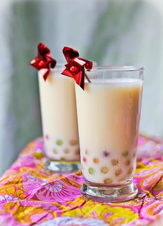 I'm addicted to boba milk tea - from Adventures in Cooking